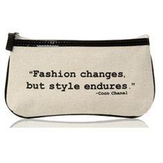 sketch art flat zip quote bag
