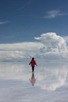 Salar de Uyuni, Bolivia Largest natural mirror!