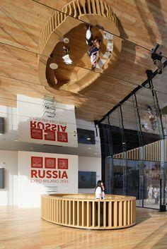 Russia Pavilion for Expo Milano 2015 by SPEECH | urdesign magazine