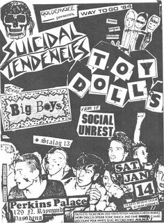 Suicidal Tendencies and Big Boys at Perkins Palace in LA, CA, 14 Jan. 1984