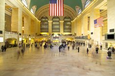 Manhattan's truly wonderful Grand Central Station is a train terminal in the grand tradition from the glory days of the nation's railroads.