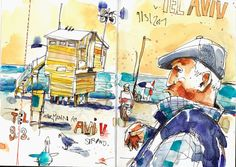 Featuring Felix Scheinberger | Urban Sketchers