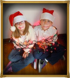 easy fun Christmas picture
