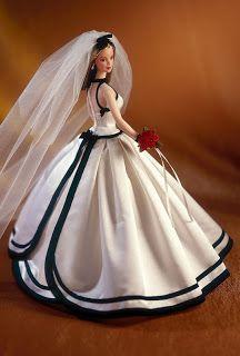 1998  Vera Wang Bride Barbie  Designer Series