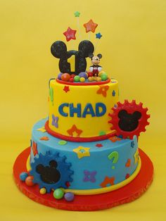 This is the cake that I am going to try and make for his birthday with the help of my grandma's friend!!!! This is soooooo cute!