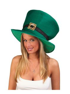 Check out St. Pat's Tall Leprechaun Hat - Holiday Accessories from Wholesale Halloween Costumes