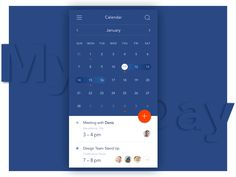 My Day. Calendar App