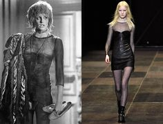 Daryl Hannah as Priscilla Stratton in Blade Runner, 1982; Saint Laurent Fall 2013