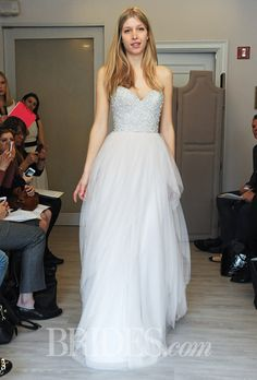 Brides.com: Alvina Valenta - Fall 2014. Wedding dress by Alvina Valenta