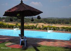The River Retreat Heritage Ayurvedic Resort, Cheruthuruthy, Kerala, India... Get a massage, or Ayurvedic treatment, or lounge poolside.
