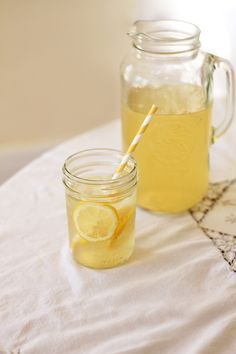 Chamomile Honey Iced Tea - Recipe