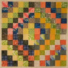 Gorgeous scrap quilt.