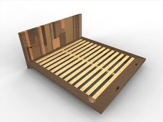 making a king size platform bed | ... Products :: The Lincoln Series Platform Bed :: Skyline (king size