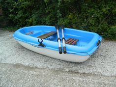 Bic-Sport-Yak-213-Blue-Dinghy-Tender-Boat-Unsinkable
