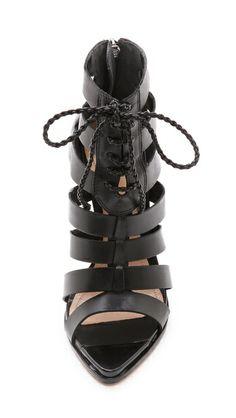 Schutz Fermina Lace Up Sandals High Sandals, Lace Up Sandals, Fashion Wear, Fashion Shoes, Womens Fashion, Crazy Shoes, Me Too Shoes, Shoe Show, Shoe Game