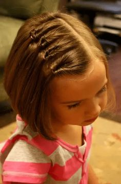 Frisuren 2018 Cute Kid Frisuren für kurzes Haar Hairstyles 2018 Cute kid hairstyles for short hair # … Hair Styles For School Cubraid hairstyles easy ThiShort Hair Cuts 2016 Hairdos For Short Hair, Girls Hairdos, Cute Little Girl Hairstyles, Cute Hairstyles For Kids, Baby Girl Hairstyles, Braided Hairstyles, Teenage Hairstyles, Girl Haircuts, Princess Hairstyles