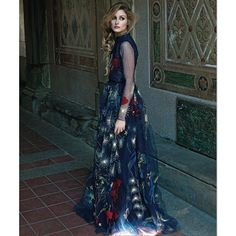 johanneshuebl -September Issue- my story for @harpersbazaarmx is out now! -could not be happier- @therealoliviaP in all @Maison Valentino, brought together by @ericapelosini
