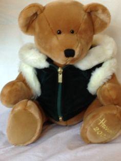 HARRODS CHRISTMAS 2001 TEDDY BEAR