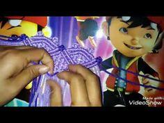 Skill Pembuatan Tas Rajut Dari Tali Kur Motif Kotak Kotak From Indonesia - YouTube