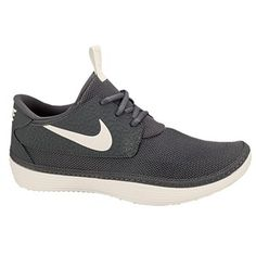Nike Solarsoft Moccasin - Men's - Dark Grey/Sail/Volt