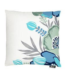 Vallila Interior AW14, Ensi-ilta cushion cover 43x43cm blue by Saara Kurkela