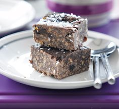 No-cook chocolate crunch squares - Healthy Food Guide
