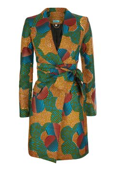 Image of Patch Work Coat Latest African Fashion Dresses, African Inspired Fashion, African Print Fashion, Africa Fashion, Fashion Prints, Fashion Design, Ankara Fashion, African Print Clothing, African Print Dresses