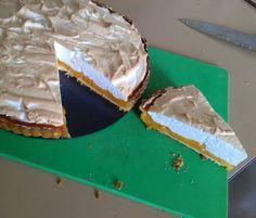 My hubby loves lemon meringue pie so I gave it a go