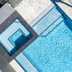 Dark Grey ceramic mosaic is one of our most popular ceramic tiles. It's good-looking, in-vogue, has character and is versatile! Modern Paint Colors, Pool Steps, Ceramic Mosaic Tile, Pewter Grey, Dark Grey, Pools, Landscaping, How To Look Better, Spa