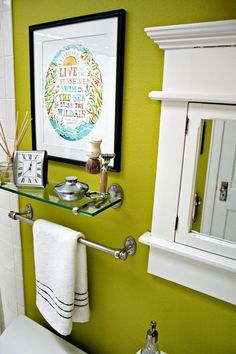 Paint colors that match this Apartment Therapy photo: SW 2927 Weathervane, SW 6167 Garden Gate, SW 0014 Sheraton Sage, SW 6706 Offbeat Green, SW 7648 Big Chill