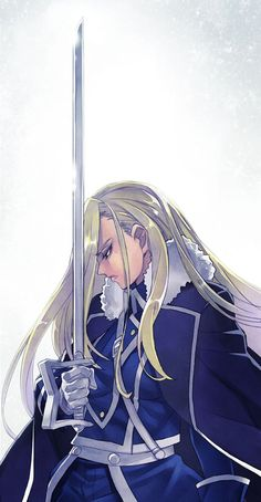 Olivier Mira Armstrong. Having watched FMAB first, I really missed her while watching FMA.: