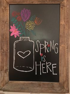 Spring Flower filled jar sayings for chalkboard Chalkboard Doodles, Blackboard Art, Kitchen Chalkboard, Chalkboard Decor, Chalkboard Drawings, Chalkboard Lettering, Chalkboard Designs, Chalk Drawings, Ideas