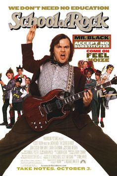 """Escuela de rock"" (USA 2003). Director: Richard Linklater."