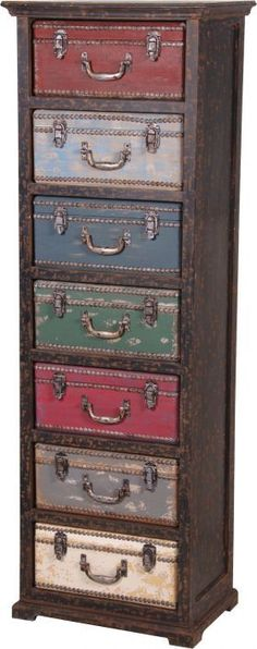 New upcycled furniture diy ideas vintage suitcases ideas