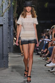 Band Of Outsiders S/S 2012 eyelet top
