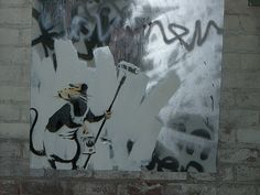 "Banksy ""Barely Legal"" L.A. 2006   #banksy - more streetart @ www.streetart.nl"