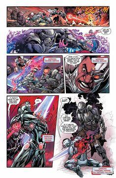 DC Sneak Peek: Cyborg, Page 6 of 9
