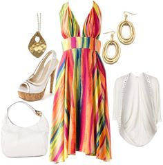 A fashion look from March 2013 featuring ABI FERRIN, flat shoes and red purse. Browse and shop related looks. Cute Summer Outfits, Spring Outfits, Cute Outfits, Summer Dresses, Summer Fun, Summer Chic, Summer Wear, Summer Nights, Spring Summer