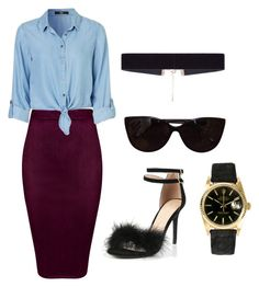 """""""Untitled #8"""" by xqueen-lynnx on Polyvore featuring Rolex, 8 Other Reasons and Tiffany & Co."""