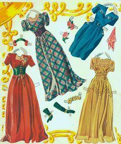 Liberty Belles paper dolls, 1943, Merrill #3477 (9 of 9) | Bobe Green | Picasa Web Albums