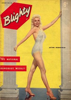 Blighty Magazine 1957, Jayne Mansfield