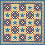 Free Starry Nine-Patch Quilt Pattern Download quilt patterns, quilting patterns, quilt pattern