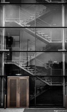 """A house if generally opened up by glass is a body x-rayed by the sun. Skeleton and muscles and tubes all show themselves in their beautiful functionality."" -Le Corbusier"