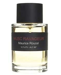 Musc Ravageur (Frederic Malle) is an oriental fragrance for women and men. Top notes are lavender and bergamot; middle notes are cinnamon and cloves; base notes are sandalwood, tonka bean, vanilla, guaiac wood and cedar. -2000