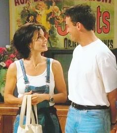 And I'm pretty sure we owned those pants: | Why Chandler Bing Is Like The Teenage Girl Inside Of All Of Us