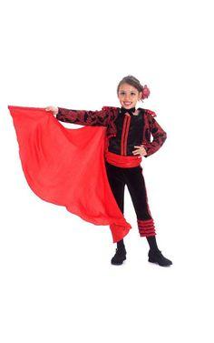 Matador Spanish Bull Fighter Child Girls Fancy Dress Halloween Bookweek Costume   eBay
