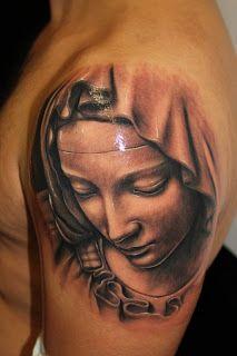 Jose Lopez Virgin Mary Tattoos | Irgin Mary Tattoo Jose Lopez
