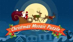 Create the magical collection of unique Christmas cards out of colorful fragments!  http://toomkygames.com/download-free-games/christmas-mosaic-puzzle