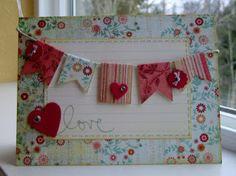 A card by Steffanie Seiler.  Love the colors!  :)