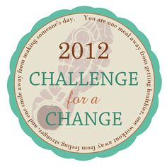 New Years Challenges ~ there is a different fitness and healthy eating challenge every month!